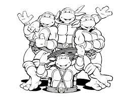 Ninja Turtles Coloring Pages Online - aecost.net | aecost.net