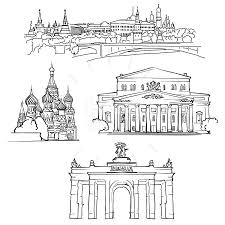 famous architectural buildings black and white. Unique Architectural Famous Architectural Buildings Black And White Moscow Russia  With Famous Architectural Buildings Black And White E