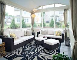 sunroom decorating ideas. Wonderful Sunroom Decorating Ideas For A Contemporary Porch With Screened In And