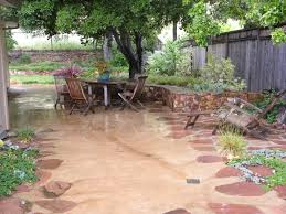simple diy concrete backyard cost stunning patio ideas stamped fabulous to build resurface stamped concrete patio cost throughout diy