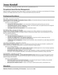 Sample Resume Portfolio Portfolio Management Resume Resume Sample ...