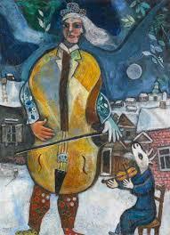 le violoncelliste 1939 marc chagall