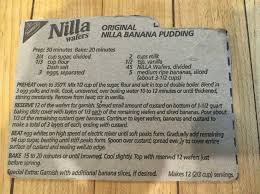 Country Style Banana Pudding