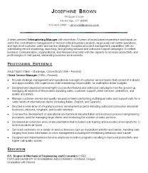 Customer Service Resume Objective Customer Service Resume Objective