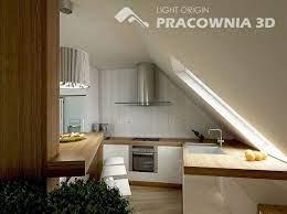 Attic Kitchen Attic Remodel Small Apartment Design Attic Apartment