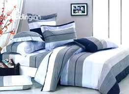 striped bedding sets blue and white striped bedding dark blue white and grey color stripe 4