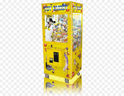 Crane Toy Vending Machine Fascinating Toy Claw Crane Minecraft Arcade Game Yellow Bar Png Download 48