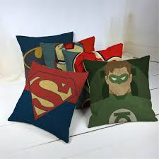 Small Picture Cartoon Style Fashion Decorative Cushions Marvel Heroes Printed