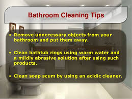 4. Bathroom Cleaning Tips ...