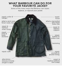 what barbour can do for your favorite jacket