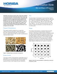 Frac Sand And Proppant Applications