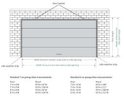 height of garage door collection in industrial garage door dimensions with garage door sizes full image