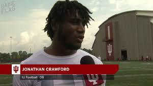 Indiana Football: DB Jonathan Crawford - YouTube