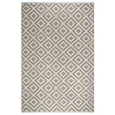 chanler kilim indoor outdoor almond and white 2 ft x 3 ft
