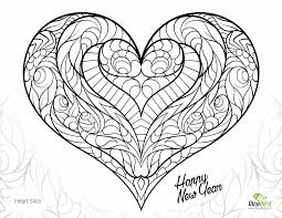 Adult Printable Coloring Pages Of Heart With Roses Printable