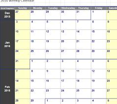 Week Calendar Excel Template Barca Fontanacountryinn Com