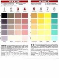 Mixol Tint Color Chart Mixol Color Chart Number Color Codes Gallery