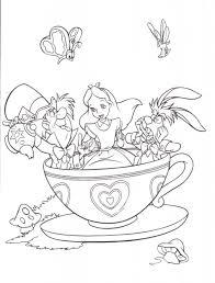 Kids N Fun 16 Coloring Pages Of Alice In Wonderland in Alice In ...