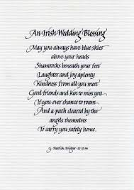 Irish Love Quotes Wedding New Irish Wedding Blessing Poem Dogs Cuteness Daily Quotes About Love