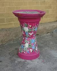 flower pot cigarette stand outdoor ashtray diy smoker outdoor retreat outdoor fun