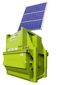 How Does A Trash Compactor Work Vert I Pack Vertical Compactor Marathon Equipment