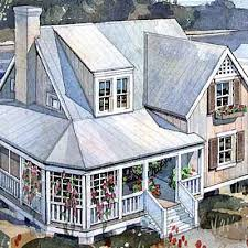 Rustic Beach Cottage   Top House Plans   Coastal LivingPages