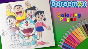 This website is not properly configured or disabled. Nobita Shizuka Suneo Jaian Coloring Page Draw And Coloring Doraemon Cartoon Forkids Youtube