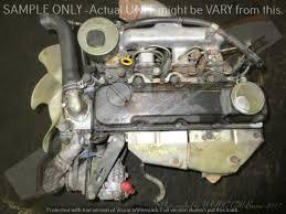 NISSAN HARDBODY -TD27 2.7L NON TURBO / TURBO DIESEL Engine -Black ...