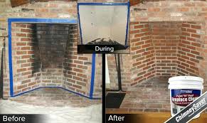 how to remove a brick fireplace superb how to remove soot from brick fireplace part 3