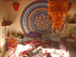 Hippie Bohemian Bedroom Tumblr For Best Bedroom Tapestry