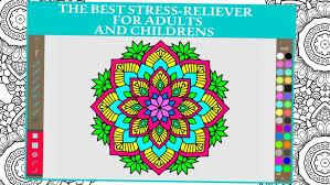 mandala coloring book for s and kids apk screenshot