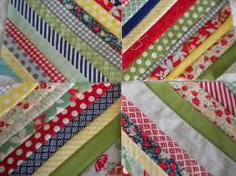 String Quilt Block Tutorial: Put Those Scraps to Good Use & Multi-Patterned String Block Quilt Adamdwight.com