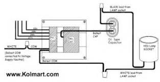 100 watt hps ballast wiring diagram images 50 watt hp s hid light hid ballast wiring diagrams high pressure sodium