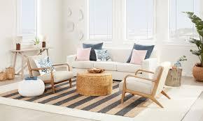 living room coastal furniture and decor ideas
