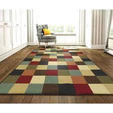 rubber backed carpet checd design multi 8 ft 2 in x 9 runners uk rubber backed carpet