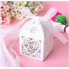 wedding candy box mini laser engraved gift box party favors creative chocolate box decorative gift bo can put ferrero rocher 091 baby gift wrap baby gift