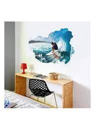 3D Surfboard Wall Bedroom Living Room ...