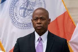 Adams, New York delegation present a ...