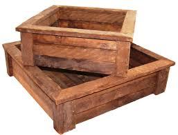 Rustic Wood Fairy Garden Boxes