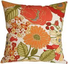 Sa Pottery Barn Floral Outdoor Throw Pillow from Pillow Decor
