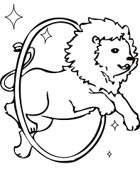 Small Picture Lion Taming Coloring Page Handipoints