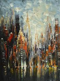 original art for at ugallery com majestic nyc by tatiana iliina 450