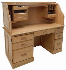 oak roll top desk throughout 60 w solid rolltop computer in sand finish stock designs 8