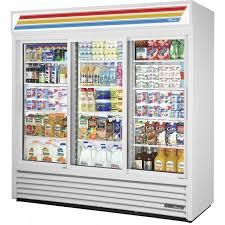 true gdm 69 hc ld sliding glass door refrigerated merchandiser 69 cu