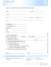 Walkathon Pledge Form Templates Pledge Forms Magdalene Project Org