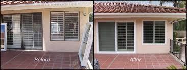 simonton sliding doors beautiful patio