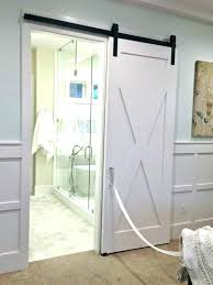 bathroom doors sliding glass