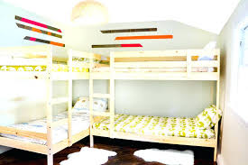 fascinating l shaped bunk bed plans interior astonishing l shaped bunk beds plans in home decor