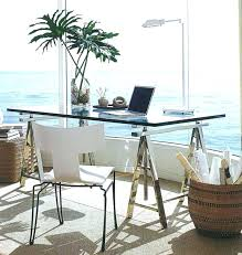 Contemporary glass office Glass Desk Contemporary Glass Office Desk Small Glass Desk For Home Office Space Furniture Inside Plans Architecture Getty Images Contemporary Glass Office Desk Small Glass Desk For Home Office