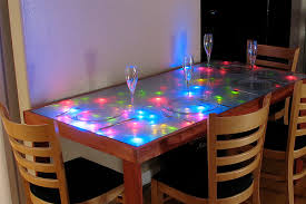 how to make an led coffee table